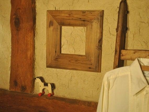 bilderrahmen aus recyceltem holz altholz rahmen rahmen aus. Black Bedroom Furniture Sets. Home Design Ideas