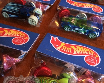 Valentine Day Girls Boys Kids Birthday Party Favors Gifts Hot Wheels Party Favors 15 Sets