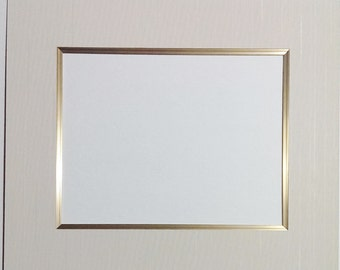 Frame With Linen Mat Etsy