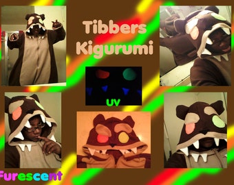 Tibbers Kigurumi, Onesie, pajamas, cosplay from League of Legends