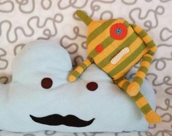 Cuddly monster, Monster, Monster, Kuscheltier, knitted cuddly monster, knit Monster plush monsters,