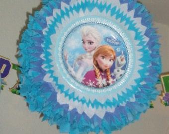 Pinata frozen Elsa una Anna