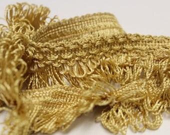 Gold Loop Fringe- Decorative Trim 806