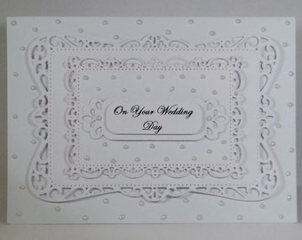 Wedding Card # White 1