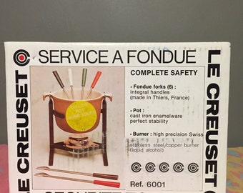 Le Creuset Fondue pot in original box!!