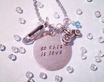 Cinderella Inspired Handmade Necklace