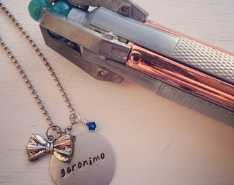 Doctor Who Eleventh Doctor Inspired Handmade Necklace