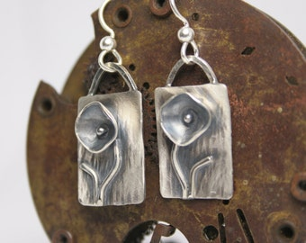 Sterling Silver Earrings - Handmade