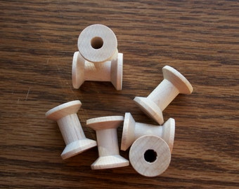 Wood Spools Unfinished Wood Spools Doll Body Parts