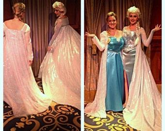 Adult Elsa Costume. Size 10 ready to ship. Handmade by me in the USA!