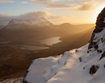 Stac Pollaidh sunrise, Inverpolly, Scotland