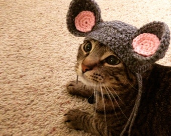 Cat Mouse Ears Costume