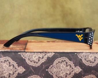 West Virginia Mountaineers Reading Glasses