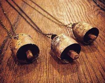 Copper Bell Necklace