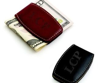 Leather Money Clip (e150-1614) - Free Personalization