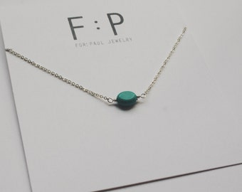 Evie Necklace in Silver