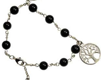 Tree of life, pentacle, and celtic charm bracelet.