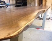 Live Edge, Dining Table, Black Walnut, Walnut, Table, Reclaimed, Wood table, Dine, Dine table