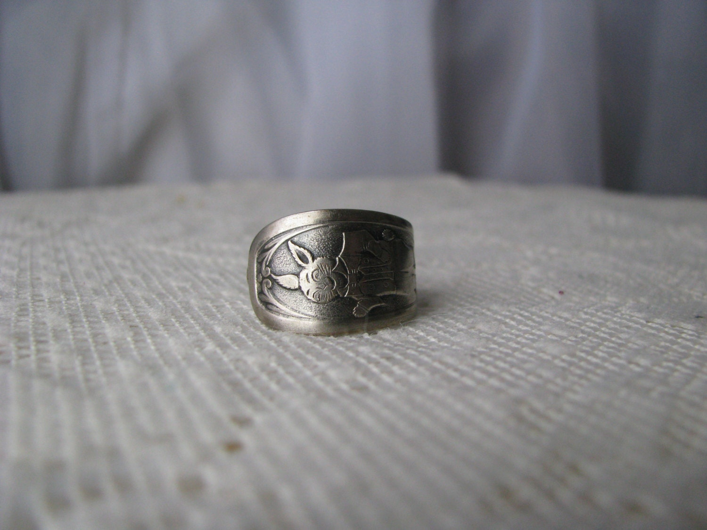 spoon ring spoon jewelry flatware ring