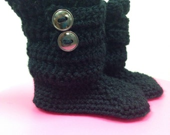 Two Button Boots