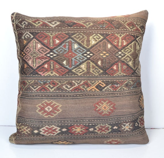 Southwestern Style Pillow Shams : Items similar to 24x24 bedroom decor southwestern outdoor pillows euro boho style asian toss ...