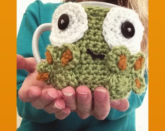 Frog Mug Hug; Mug also included!