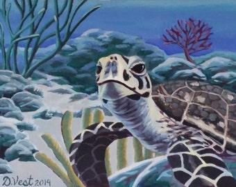 Sea Turtle Greeting