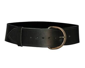 Medieval Wide Buckle Belt - Medieval Buckle Belt - #DK2018