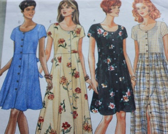Butterick Pattern  4440 - Misses Dress - five Different Styles