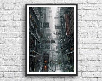 Art-Poster 50 x 70 cm - Hong Kong