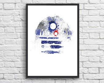 Poster R2D2 Star Wars
