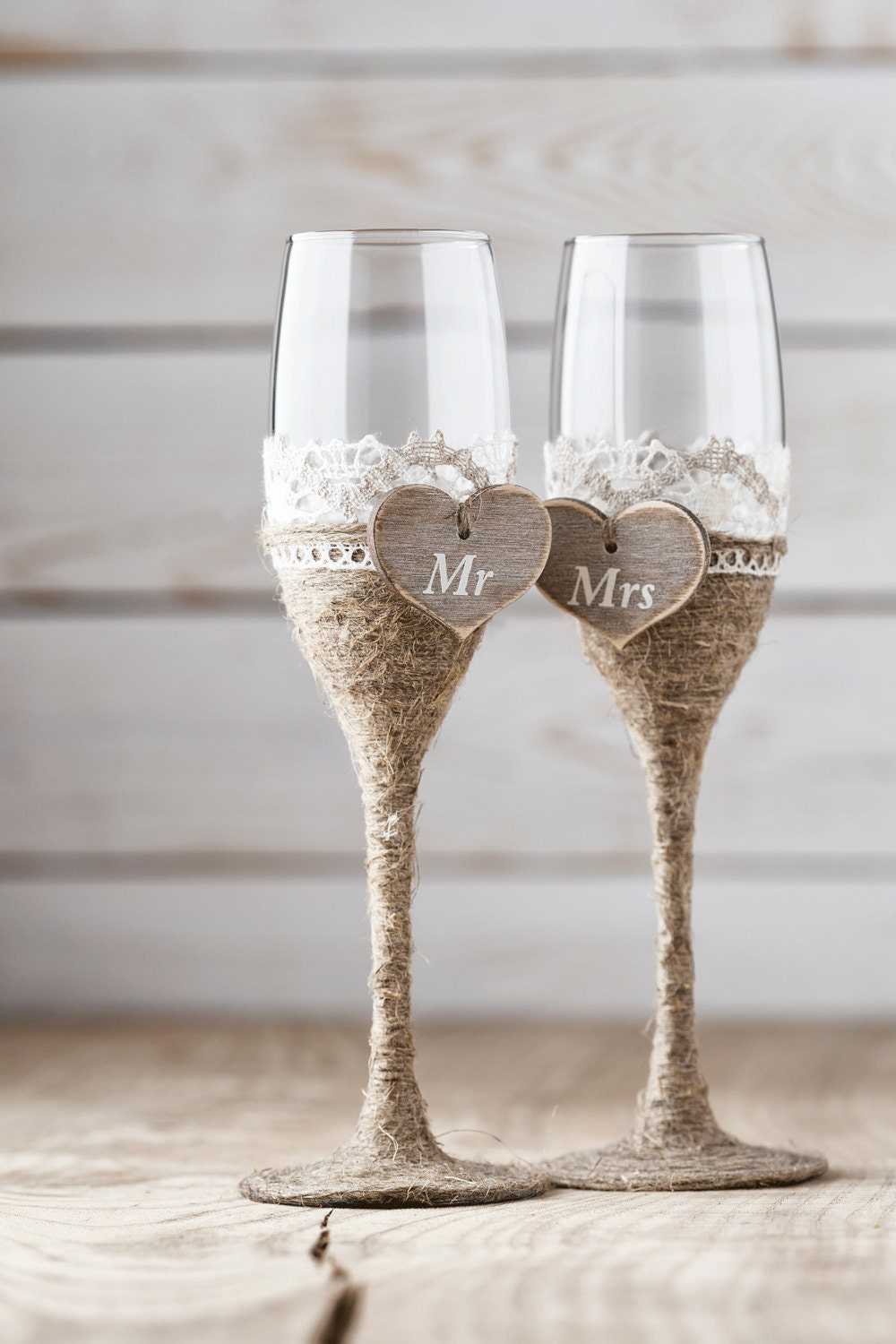 wedding toasting glasses rustic toasting flutes wedding