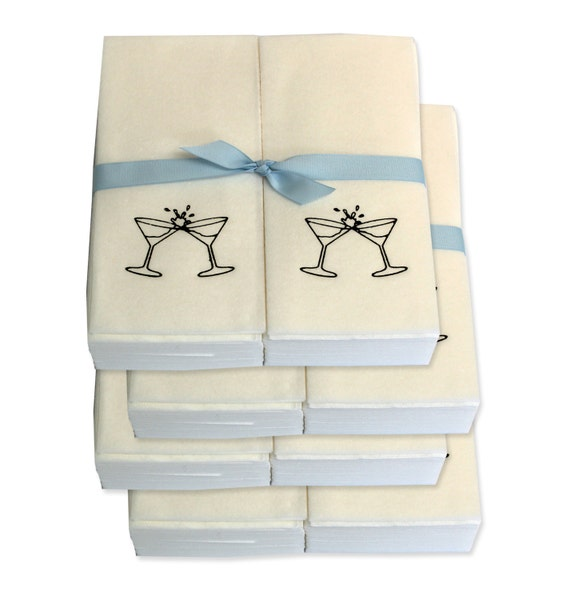 Guest Towels Linen: Nature's Linen Disposable Guest Hand Towels Wrapped By