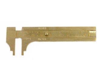 Brass Slide Gauge - 80mm - 35-156