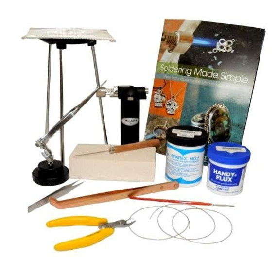 jewelry soldering kit with butane torch sfc tools by sfctools
