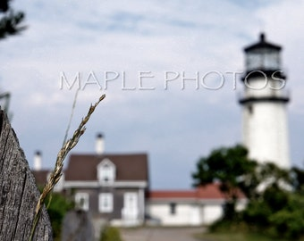 Highland Lighthouse, Truro, Cape Cod Massachusetts-Fine Art Photography