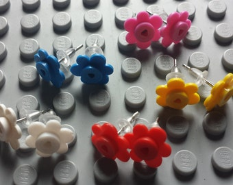 LEGO® Flower Earrings