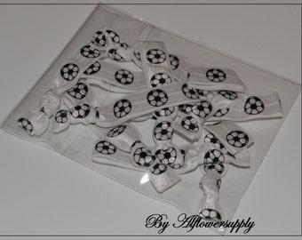Best Price 10& more Soccer Hair Ties,Grab Bag, Party Favors