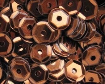 Metallic Sequins - 6mm or 8mm - 25 grams Y14