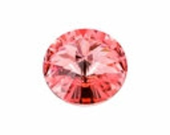 SWAROVSKI 1122 12mm Rivoli - Rose Peach