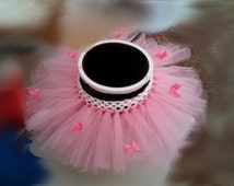 Bow Embellished Tutu for Newborns and Infants