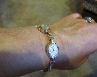 Upcycled Vintage Watch Bracelet