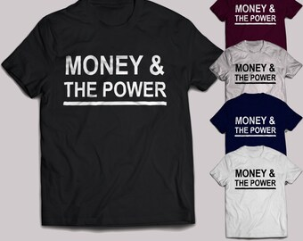Money & the power kid ink T-Shirt hip hop