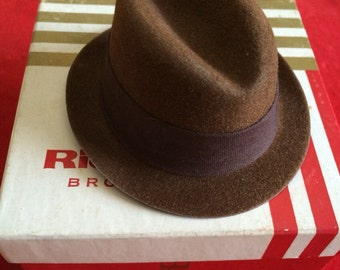 Vintage Salesman Sample Fedora