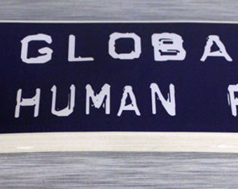 Globalize Human Rights Bumper Sticker 50 Pack Outdoor Stickers