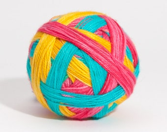 It's My Party - Self striping sock yarn