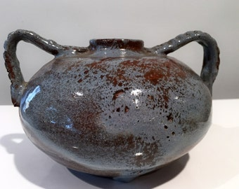 Lawrence Blazey Studio Pottery Vase Cleveland School Artist