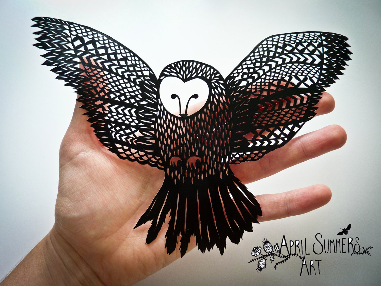 Personal mr owl digital diy papercutting file paper cutting for Paper cut out art templates