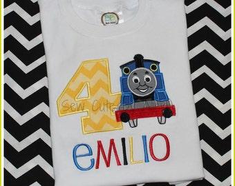 Train Birthday Shirt ... All Aboard!