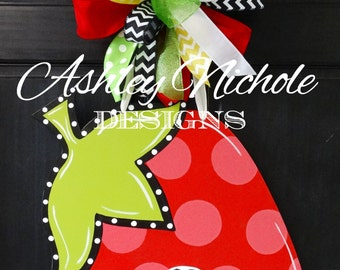 Strawberry Door Hanger, Door Decoration